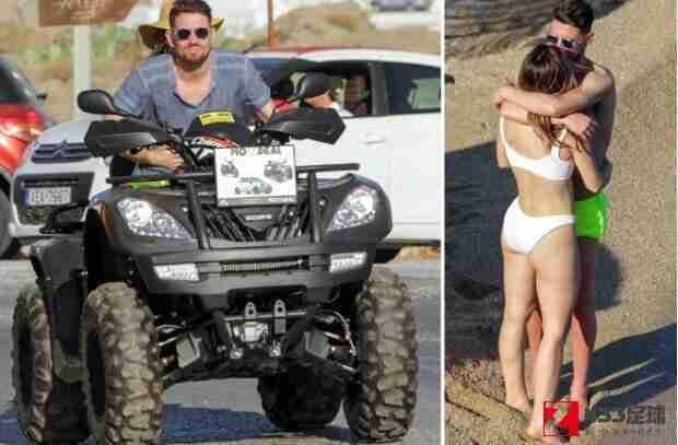 若日尼奥,若日尼奥被拍到和女友沙滩度假亲密拥吻