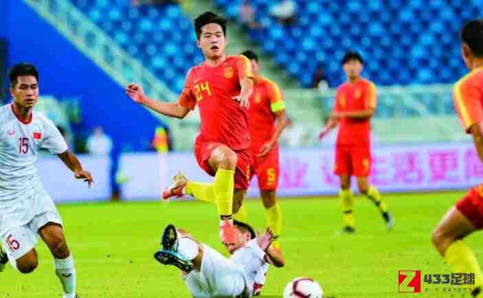 中国国奥队,越南队,中国国奥不敌越南,中国国奥0-2不敌越南,阮礼凌进球锁定胜局