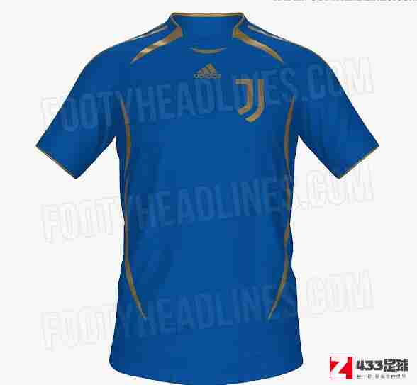 尤文图斯,尤文下赛季球衣,尤文下赛季球衣最新曝光,整体呈现蓝色外观